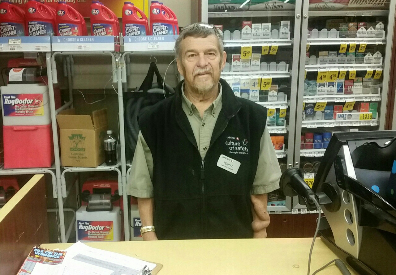 inspiring neighbor safeway s terry dodson most would agree that working in customer service is a difficult job having fixed his share of complaints at safeway for the past 33 years terry dodson