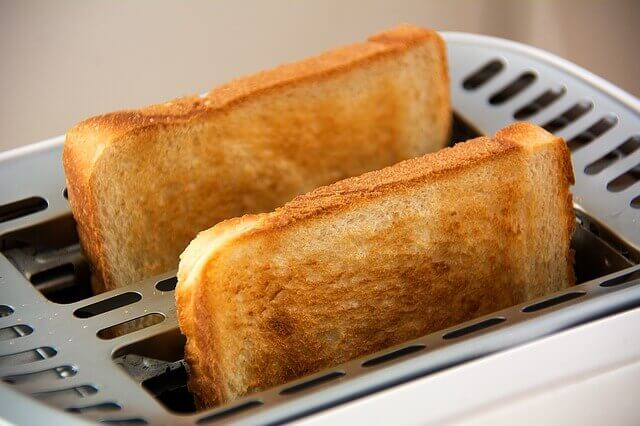 Toast for breakfast